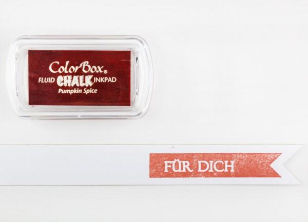 Chalk Stempelkissen Kürbis / Pumpkin Spice