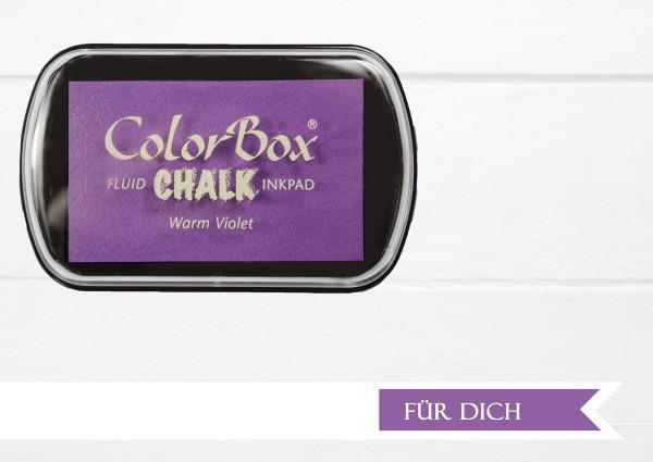 Chalk Stempelkissen Warm Violet XL