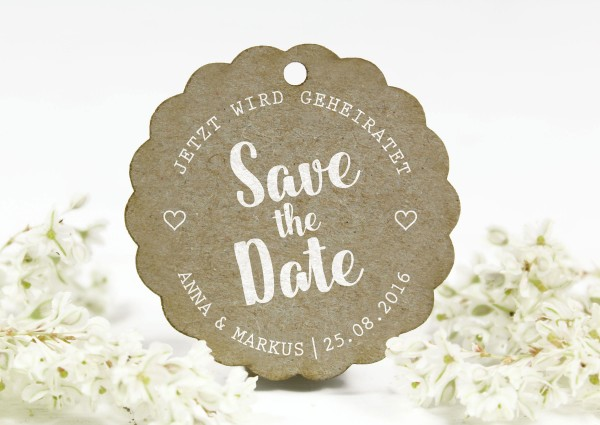 Stempel - Save the Date - Name personalisiert