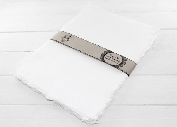 Briefpapier Handgeschöpft
