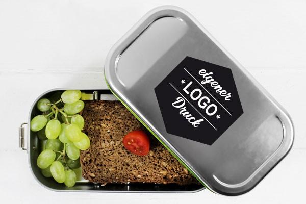 Brotdose Lunchbox mit eigenem Logo