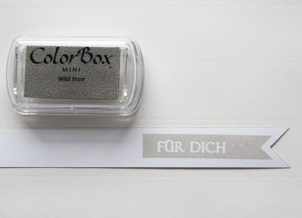 Pigment Stempelkissen Grau / Wild Hare