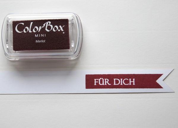 Pigment Stempelkissen Merlot / Dunkelrot