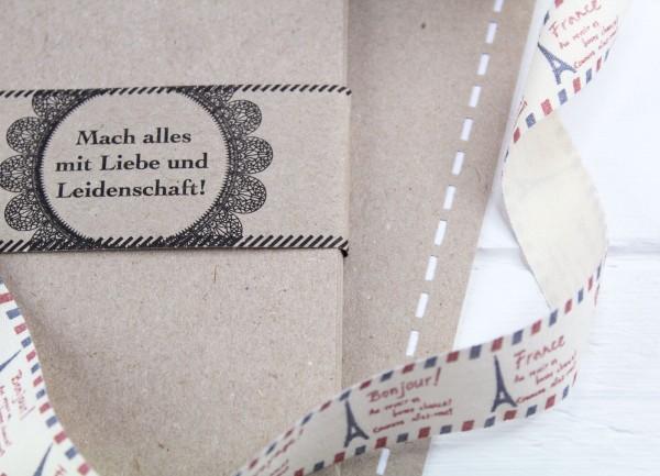 20 Bögen A3 feines Kraftpapier - Naturpapier