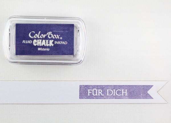 Chalk Stempelkissen Flieder / Wisteria