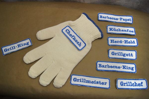 Grillhandschuh für deine Grillparty