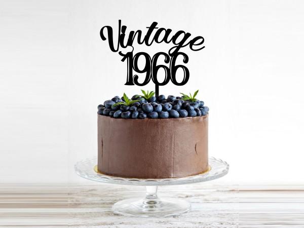 Kuchenstecker zum runden Geburtstag
