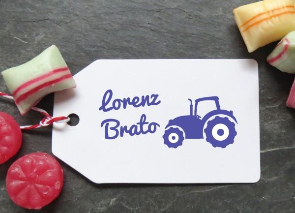 Stempel Traktor für Kinder
