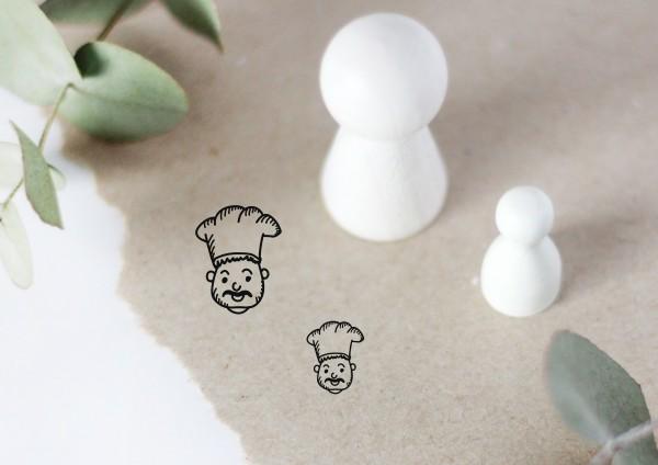 Koch Chefkoch Motivstempel