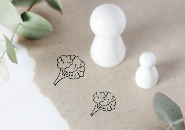 Blumenkohl Motivstempel