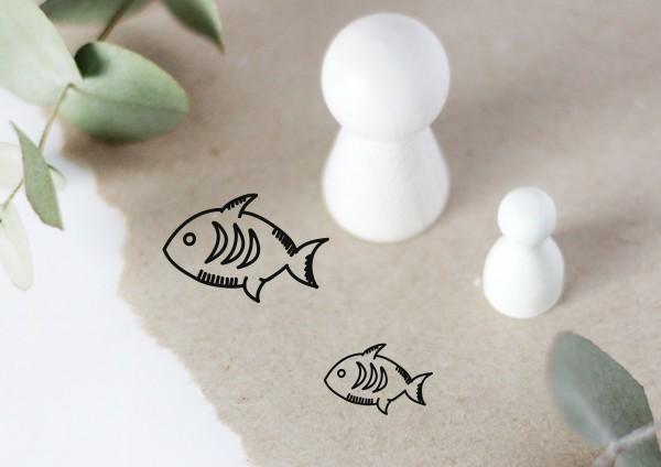 Fisch Motivstempel