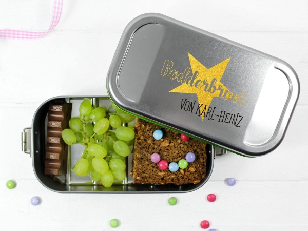 Brotdose Bodderbroot, personalisiert