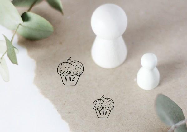 Muffin Cupcake Motivstempel
