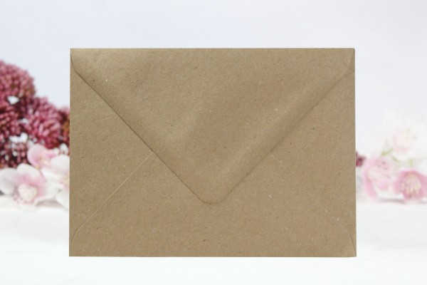 20 Umschläge Naturpapier DinC6