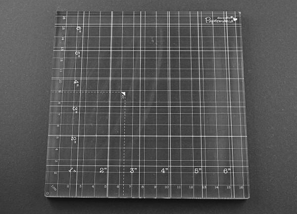 Acryl Platte für Silikonstempel xxl
