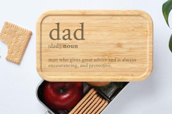 Brotdose zum Vatertag fürs Büro Definition Dad