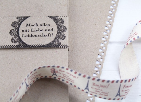 A4 feines Kraftpapier - Naturpapier