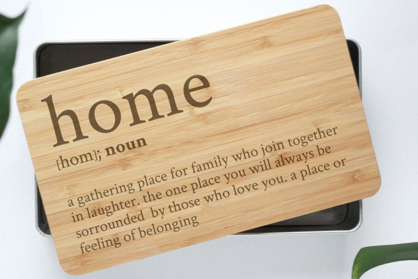 Definition Gebäckdose Home mit Bambusbrettchen
