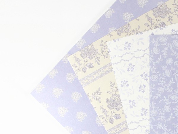 "Karton-Set ""French Lavender"""