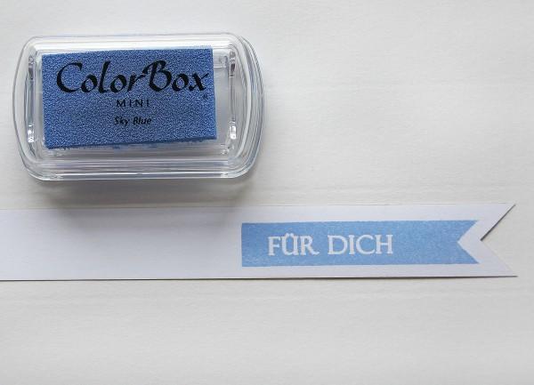 Pigment Stempelkissen Blau / Baby Blue