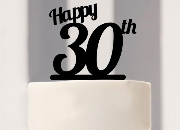 Kuchenstecker zum 30. Geburtstag