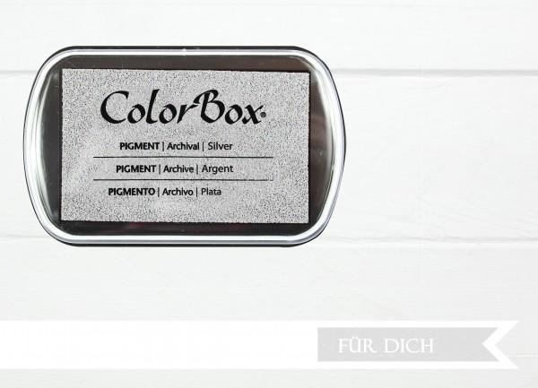 Pigment Stempelkissen Silver XL