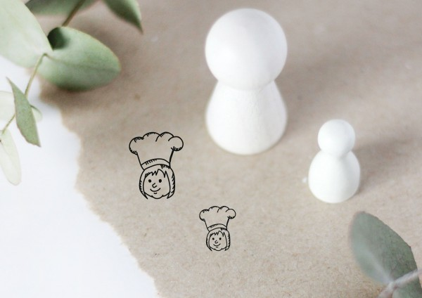 Köchin Chefköchin Motivstempel