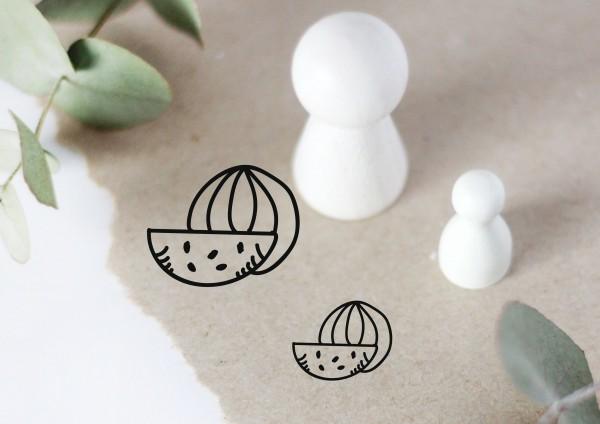 Melone Motivstempel