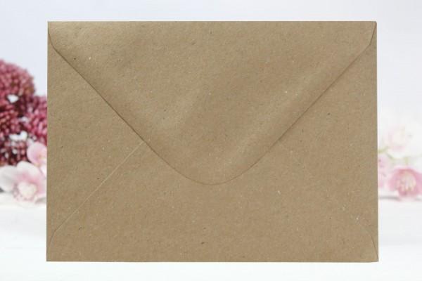 20 Umschläge Naturpapier Din C5