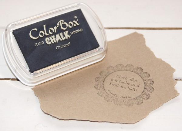 Chalk Stempelkissen Charcoal XL / Kohle