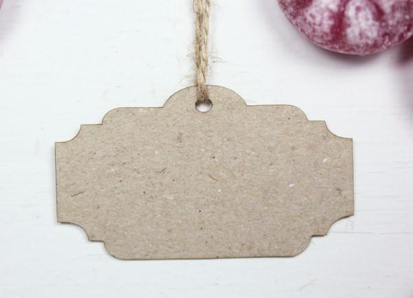 50 Stück Geschenkanhänger - antike Form